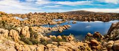 Granite Dells (Elespics) Tags: arizona lake nature landscape rocks watsonlake granitedells
