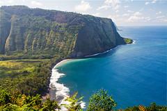 IMG_4998-HDR-2 (The.Rohit) Tags: ocean hawaii coast view hill lookout valley vista bigisland aloha waipio hamakua hawaiiisland waipiovalleylookout
