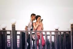 Just 2 of us (Jay axan) Tags: travel bridge love lens asian nikon couple d 3200 selfie flickrexplored