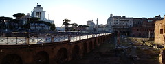 A walk between Ancient Ruins (Alessandro Ronchi) Tags: rome roma foriimperiali forotraiano viaalessandrina