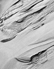 Sand Carvings (B2 Photography) Tags: bw water up sand michigan modernart carving lakemichigan erosion impressionism