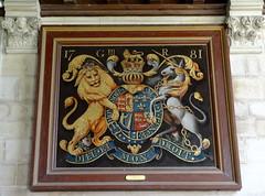 East Kennett, Wiltshire (Sheepdog Rex) Tags: christchurch royalarms eastkennett