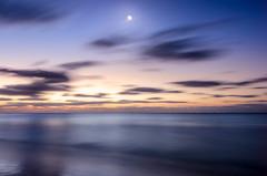Pre-Dawn Hues (DMontalbano) Tags: moon seascape dan beach del sunrise mexico photography dawn early long exposure playa moonlight carmen predawn jetlag montalbano 500px