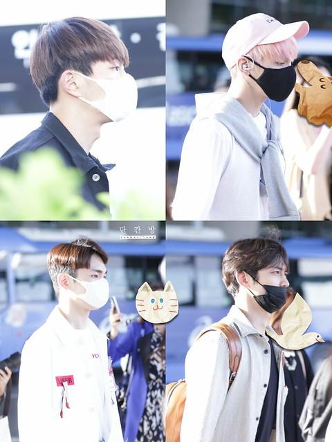 160425 SHINee @ Aeropuerto de Incheon {Llegada a Corea} 26789825006_8a68d79164_z