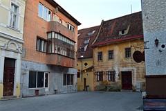 What's Around The Corner??? - Brasov (Sandra Lee Hall) Tags: corner buildings medieval romania brasov alleys translyvania