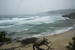 Rough Surf (phillipdumoulin) Tags: winter cold beach bondi rain sand surf wind sydney australia nsw bondibeach easternsydney wintery tamarama southernhemisphere tamaramabeach wildsurf