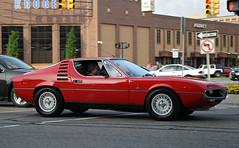 Alfa Romeo Montreal (RudeDude2140a) Tags: red classic sports car montreal exotic alfa romeo coupe