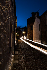 Drivin through! (Harvey Smith) Tags: street blue england urban car photography lights traffic northwest pentax smith dent cumbria harvey bluehour northern drivin 2016 northernengland dentdale countrysidewalks harveysmithphotography2016