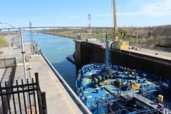 Lock #3 - Welland Canal (jmaxtours) Tags: ontario lock stcatharines lock3 stcatharinesontario algomahansa wellandcanalstcatharines lock3wellandcanal