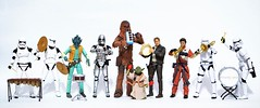 Made it through Monday.......time to celebrate!!! (Kewty-pie) Tags: scale miniature starwars actionfigures rement musicalinstruments blackseries shfiguarts onetwelveth