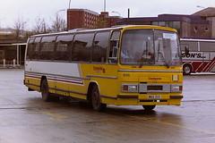 CLYDESIDE 605 MNX305 (bobbyblack51) Tags: bus station all glasgow tiger transport buchanan 1995 3200 types paramount leyland 605 clydeside plaxton of mnx305