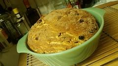 cinnamon raisin loaf! (carbonated) Tags: bread baking sortof