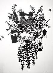 MBosley_PartandParsley (TheWayThingsWere) Tags: silhouette paperart silhouettes papercut papercuts papercutting mollybosley