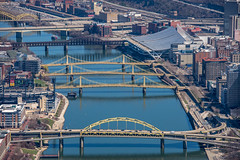An aerial view up the Allegheny River in Pittsburgh (Dave DiCello) Tags: pittsburgh aerials pittsburghskyline downtownpittsburgh davedicello imagesofpittsburgh viewsofpittsburgh pittsburghprints pittsburghskylineimages aerialpittsburgh pittsburghfromtheair aerialviewsofpittsburgh