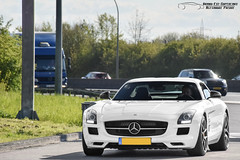 Mercedes-Benz SLS AMG (Alexandre Prvot) Tags: auto cars car sport automobile european parking transport automotive voiture route exotic luxembourg lux supercar luxe berline exotics supercars ges gumball3000 dplacement worldcars grandestsupercars