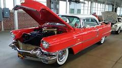 '56 Cadillac 2-Door Hardtop #1 (artistmac) Tags: cars vintage gm antique auction indianapolis indy indiana cadillac area gavel luxury automobiles staging representative generalmotors in mecum stagingarea standardoftheworld showyourauto patrickkrook
