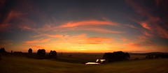 Sunday's Sunset (Paul Hollins) Tags: panorama landscape australia newsouthwales aus woodville nikond750