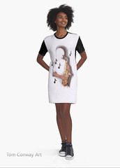 T Shirt Dress with Music saxophone design by Tom Conway (TomConwayArt) Tags: music woman fashion clothing dress legs notes conway jazz clothes dresses footwear instruments sax saxophone musicalinstruments brassinstruments fashionmodel latestfashion musicnotes femalefigure fashionstyle windinstrument newfashion casualshoes ladiesfashion tshirtdress shortsleevedress graphicdresses