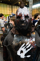 Uruk Hai cosplay (oweneduffy) Tags: cosplay games lord lotr rings fantasy hai orc uruk