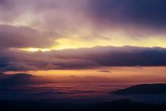 vychod2 (Dominika Dan) Tags: morning sky mist tree nature fog canon haze czech lanscape