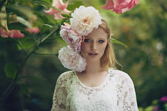 My head is a jungle (Anastasia Vervueren) Tags: photography jungle flowers exotic tropical summer vibes fashion portrait green