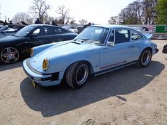 Porsche 911 (911gt2rs) Tags: show blue meeting event hellblau rs treffen 930 carrera fuchsfelgen gmodell