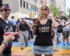 Philadelphia Pride Parade, 2016 (Alan Barr) Tags: street people color philadelphia lumix candid streetphotography pride panasonic sp streetphoto gaypride 2016 gx8
