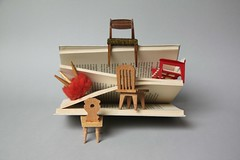 place for book lovers (virginhoney) Tags: studio book miniature chairs atelier booklover placeforbooklovers