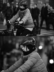 [La Mia Citt][Pedala] (Urca) Tags: portrait blackandwhite bw bike bicycle italia milano bn ciclista biancoenero mir bicicletta 2016 pedalare dittico 85534 nikondigitale ritrattostradale