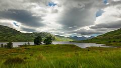 Arklet Sky (zarlock81) Tags: lake scotland gb loch lochlomond schottland locharklet vereinigtesknigreich