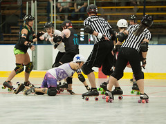 IMG_0235 (clay53012) Tags: ice team track flat arena madison skate roller jam derby league jammer mrd bout flat wftda derby womens track hartmeyer moocon2016