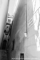 Petralia (Lord Seth) Tags: 2015 d5000 lordseth petralia sicilia bw biancoenero borgo italy medievale nikon vicoli