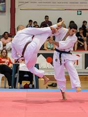 al vuelo (Santi BF) Tags: kick karate patada kyokushinkai