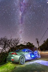 Car and stars (albertchen8888) Tags: lexus car canon star longexposure night milkyway