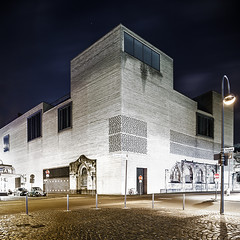 (ilConte) Tags: museum architecture night nacht cologne kln architektur colonia museo notte architettura kolumba peterzumthor