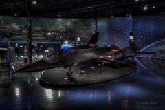 Blackbird (david.horst.7) Tags: plane dark airplane aircraft stealth lockheed blackbird sr71 sr71b