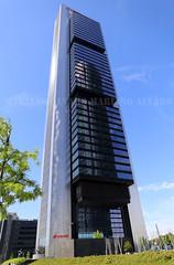 Torre Cepsa (Mariano Alvaro) Tags: madrid torre ciudad cba torres rascacielos deportiva cepsa sacyr