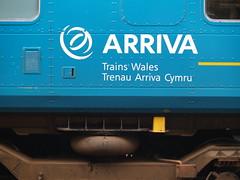 Detail from an Arriva Trains Wales Class 153 at Shrewsbury (Steve Hobson) Tags: wales trains class shrewsbury arriva 153 dmu