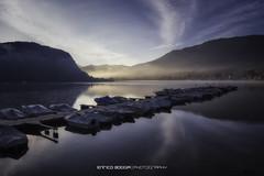 #002 La baia di Ponte Tresa (Enrico Boggia   Photography) Tags: alba barche pontile ottobre 2015 malcantone lagodilugano ceresio pontetresa enricoboggia bassomalcantone baiadipontetresa
