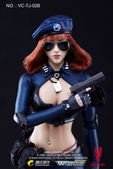 VERYCOOL TOYS VCF-TJ02 WeFire Sniper Little Sister - TJ02B Brown Hair 07 (Lord Dragon ) Tags: hot female toys actionfigure doll verycool onesixthscale 16scale 12inscale