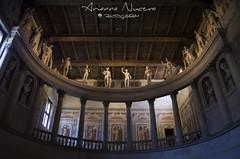 Teatro Antico (arianna_nucera) Tags: sabbioneta arte viaggio teatro antico colonnato statue roma semicerchio affreschi