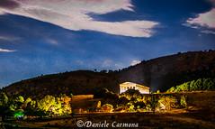 Mythic land (Daniele Carmona) Tags: lake nature night greek temple nikon shoot roman nightlight sicily monuments segesta degli daniele piana carmona albanesi danielecarmona