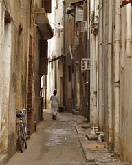 Stone Town (3scapePhotos) Tags: 3scapephotos africa alley alleyways ancient arabic architecture bicycle bike boy child children cities city cityscape cityscapes contemporary culture den destinations exotic familyroom historic island livingroom local modern muslim narrow office old safari serengeti stone stonetown street study tanzania town travel urban usual vertical wallart worldheritagesite zanzibar