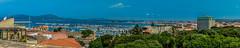 panoramica dall'alto del porto (antoniosimula) Tags: torre porta terra panorama panoramica alghero città del sole porto boat sun sky cielo nikond3200 35mm allaperto paesaggio