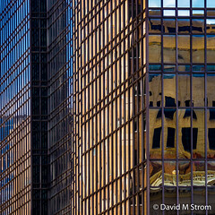 IDS Reflections (David M Strom) Tags: lines skyscraper shapes minneapolis reflections architecture davidstrom abstract minimal idscenter