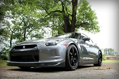 Henry's GTR 2 (eddietyndall) Tags: black grey fast rims supercar gtr blackrims nissang