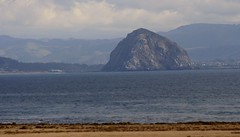 THE ROCK of Morro Bay (Prayitno / Thank you for (10 millions +) views) Tags: ocean california ca cloud beach rock bay coast big day view pacific time outdoor front line coastal morrobay morro morrorock morobay konomark