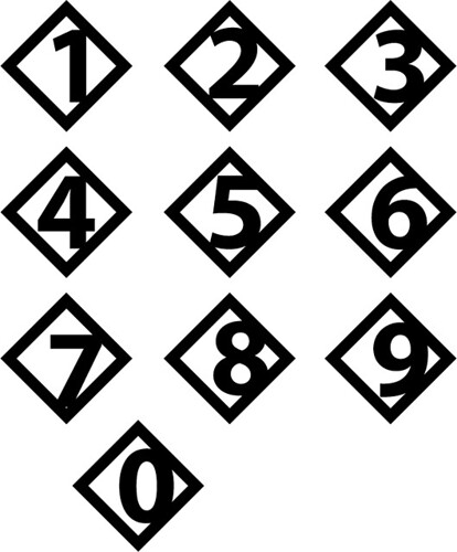 diamond numbers