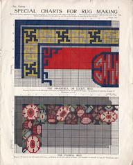 Bestway 34 Rugmaking (messy_beast) Tags: bestway latchhook rug rugmaking pattern design chart swastika