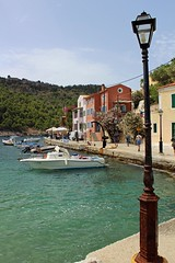 Kefalonia - Assos Harbour (big_jeff_leo) Tags: old sea vacation island greek boat fishing harbour greece kefalonia tranquil vilage